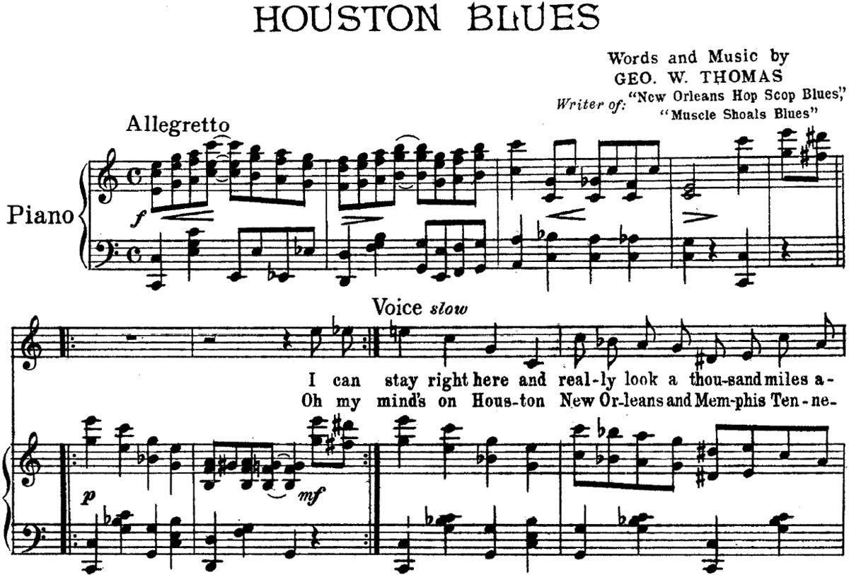 George W  Thomas - PianoBluesReview com
